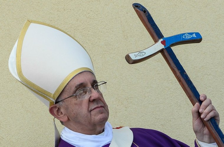 krzyz milosci franciszek