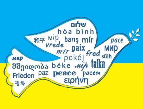 Ukraina pokój na Ziemi