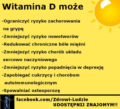 witamina d niedobor