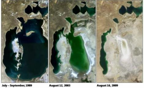Jezioro Aralskie – jeszcze w latach 60-tych XX wieku czwarte największe jezioro świata oraz ekonomiczny, ekologiczny i społeczny dar od Boga.