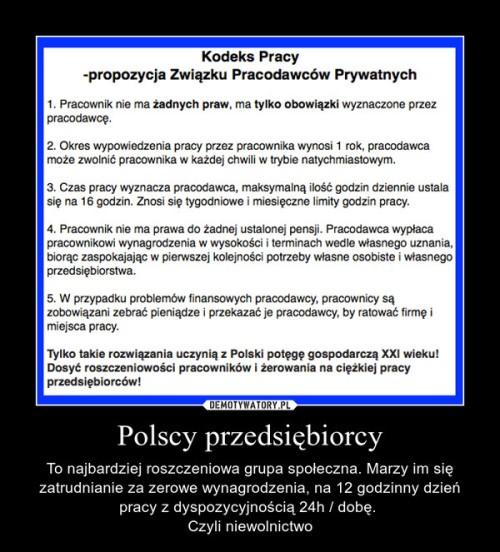 przedsiębiorczość w Polsce