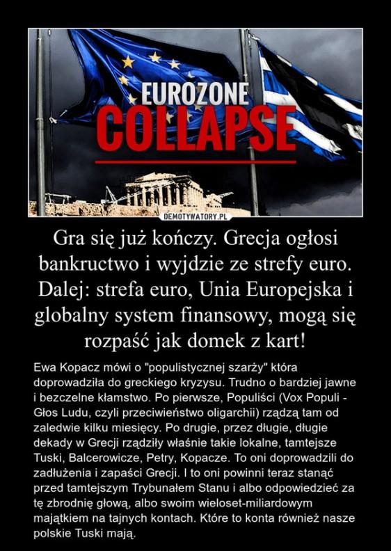 Grecja i Grexit