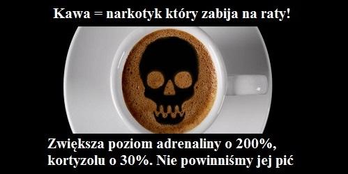 kawa jest niezdrowa