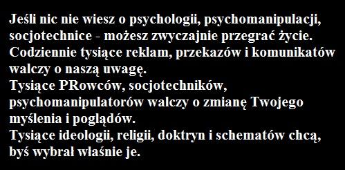 psychomanipulacja w mediach