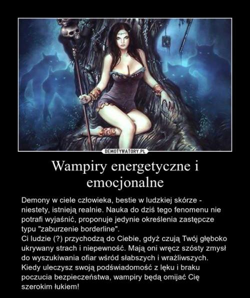 wampiryzm energetyczny