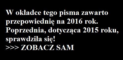 przepowiednie 2016