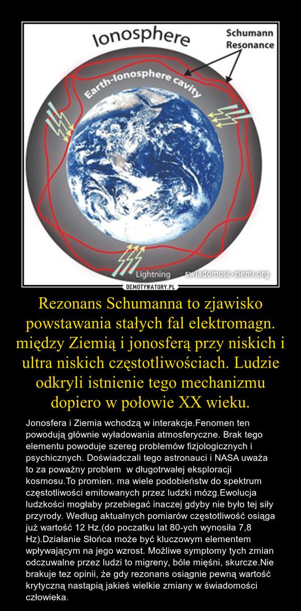 rezonans Schumanna
