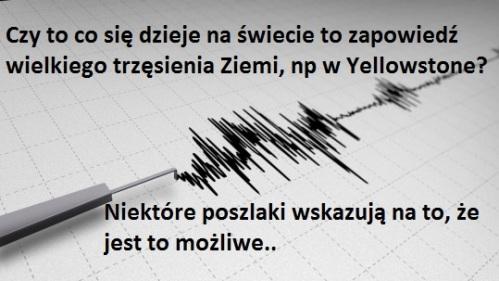 trzęsienie Ziemi Yellowstone Kalifornia