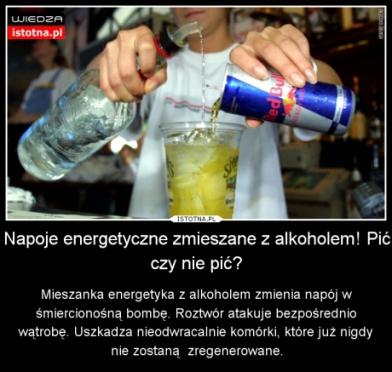 kawa i alkohol